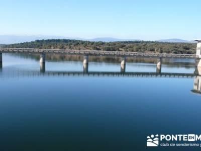 Ruta senderista por el embalse de Puentes Viejas; foros senderismo;grupos para hacer senderismo en m